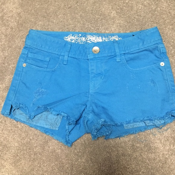 56% off Express Pants - Express Jean shorts from Haley's closet on ...