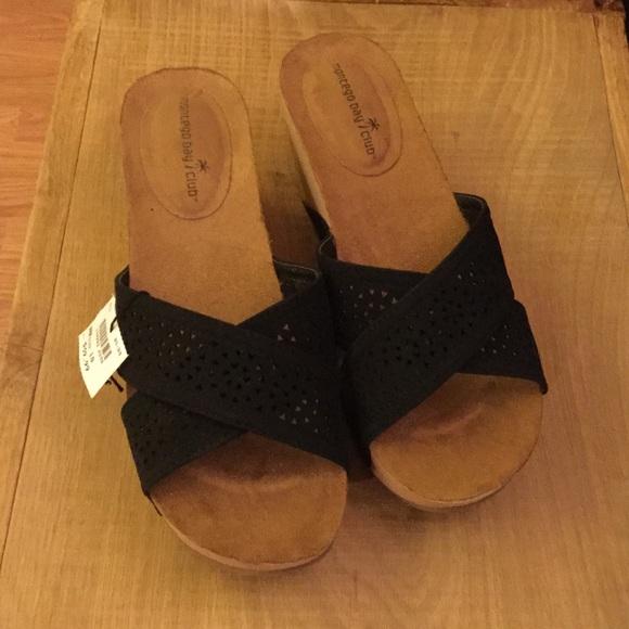 727c25809645 New Montego Bay Club Women s Black Size 10 Sandal