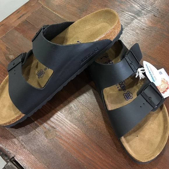 9c12e5fc93e1 BIRKENSTOCK•Arizona•matte black•New•42•Soft Foot