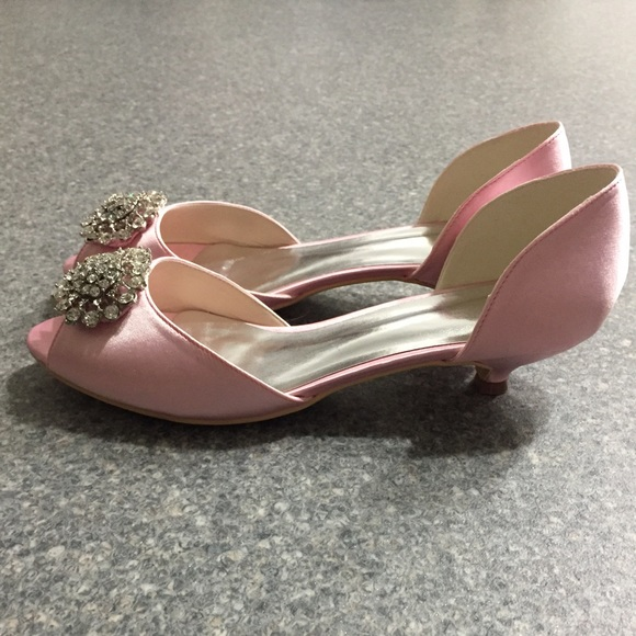 Light Pink Low Heels | Tsaa Heel