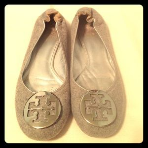 Tory Burch Gray Flannel Revas