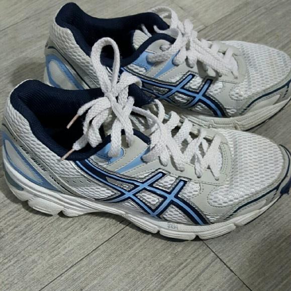 e519a75bb87 asics Shoes | Duomax Gel 180 Tr Blue White Size 6 | Poshmark