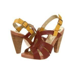 Seychelles wooden heels