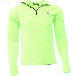 SOLD Ralph Lauren Lime Green Men's Fleece