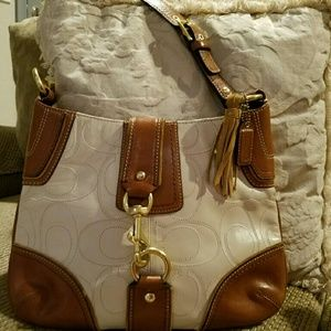 Ltd Edition Authentic Coach Hampton Hobo