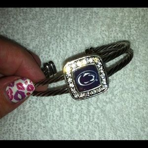 Jewelry - New! Penn State rhinestone bracelet