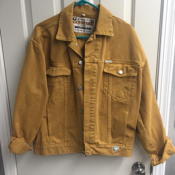 Vintage Yellow Jacket Mq8Y1tD
