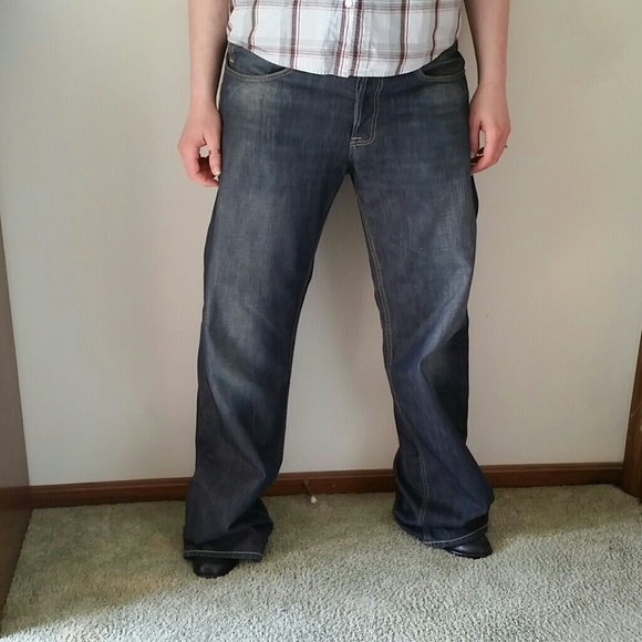 Puma Men's Evisu Regular Denim Jeans