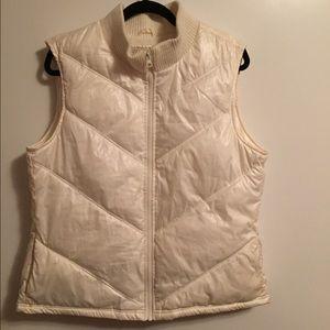 Jackets & Blazers - White puffer vest