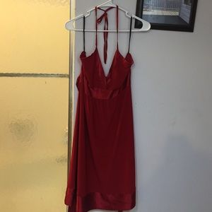 Gorgeous Silky Red Dress