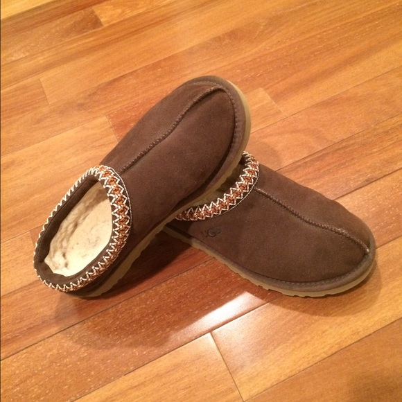 0608b79a6 UGG Shoes | Womens Tasman Slippers Dark Brown | Poshmark