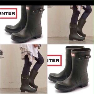Short Hunter rain boots