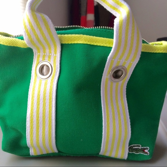 66d2cd88280d51 Lacoste Handbags - Super cute mini Lacoste bag!