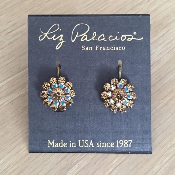 db24247e94712 Liz Palacios Swarovski crystal earrings NWT