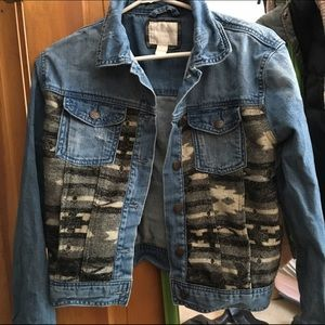 Jean jacket from forever 21