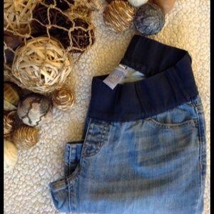 GAP Denim - 🌸 GAP MATERNITY demi panel boot cut jeans size 2