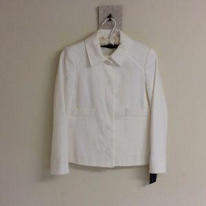 Zara Collared White Jacket