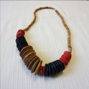 Jewelry - Wooden Bohemian Necklace