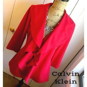 Calvin Klein Jackets & Blazers - ✨NEW RED CALVIN KLEIN JACKET✨