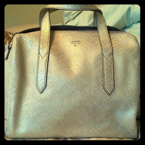 Fossil Handbags - Fossil sydney satchel in Gold 1c4b38ef8c55b