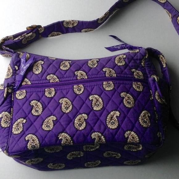 Vera Bradley Retired Simply Violet Shoulder Bag. M 5703fd0c620ff7709a000528 32cc23568e