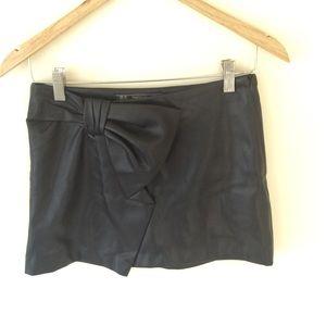 Trafaluc By ZARA Black Miniskirt Size XS