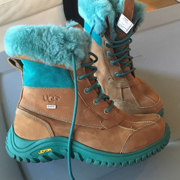 28% off UGG Shoes - Ugg teal and Carmel snow boots ..Very ...