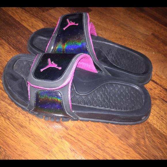 acbff20222f7 Jordan Shoes - Girls Jordan Slides