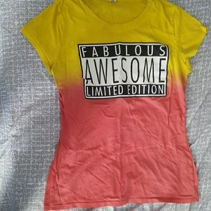 Fabulous Awesome Limited edition t shirt