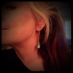 Jewelry - NEW!! Marquis Opal Stone Earrings