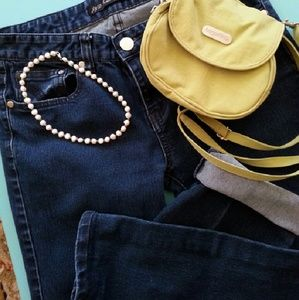 jundol jeans Denim - Deep Blue Straight Leg Jeans