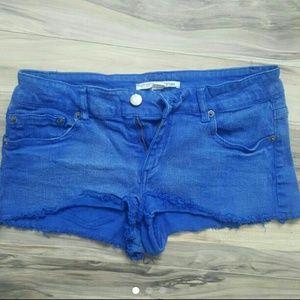 Forever 21 Blue Denim Shorts