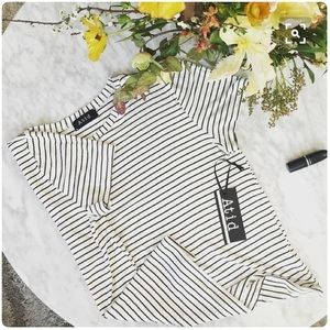 Atid Clothing Tops - 🇺🇸 The Perfect Striped Basic T-Shirt