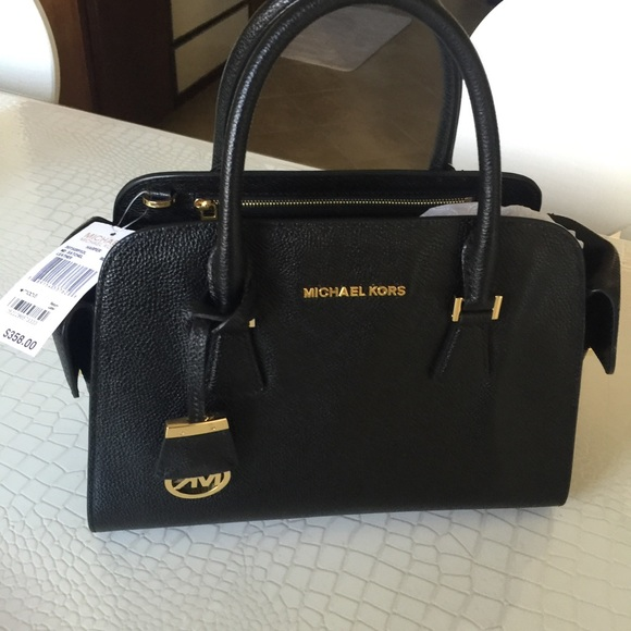 Michael Kors Harper Medium Convertible Satchel