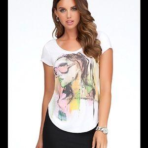 Bebe graphic T-shirt - NWOT
