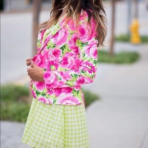 Garden Party Floral Blazer