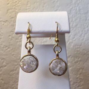 Jewelry - Druzy Geode Stone Earrings