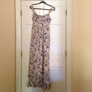Anthropologie Dresses Euc Moulinette Soeurs Maxi Dress Poshmark