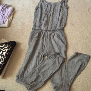 Pants - gray playsuit