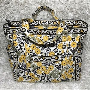 e344ae90abd3 Vera Bradley Bags - Go Wild Leopard Get Carried Away Large Travel Tote