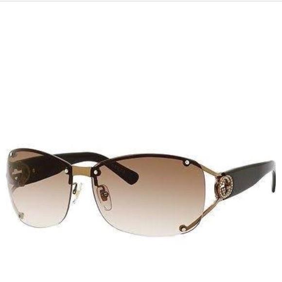 17fa498395bf6 Gucci Accessories - Authentic Gucci 2820 f s brown Sunglasses with box