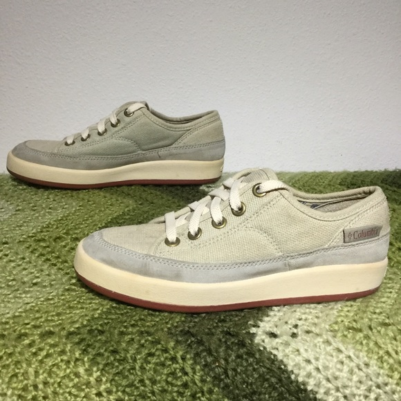 82 off columbia shoes columbia four fish sneak canvas for Columbia fishing shoes