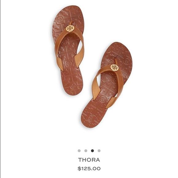 51b668c872617b Tory Burch Thora sandals tan gold. M 570462114225be1682007bb9