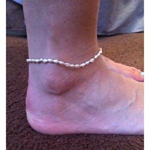Jewelry - Faux Pearl Ankle Bracelet