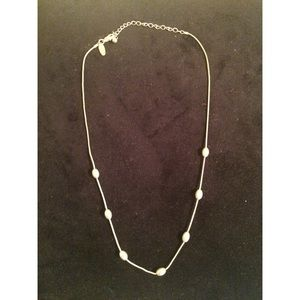 Avenue Jewelry - Beaded Silver Necklace