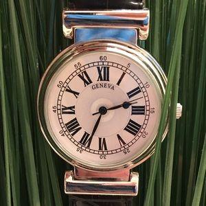 Geneva Accessories - ✨NEW✨Geneva Large Face Roman Numeral Watch