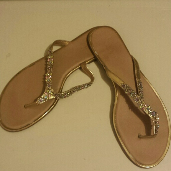 silver slippers