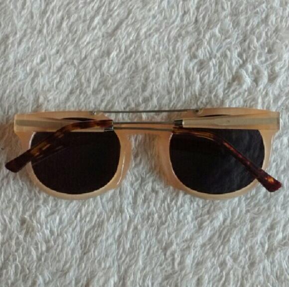 Wild Soul Accessories - Wild Soul Tan Round Aviator Sunglasses