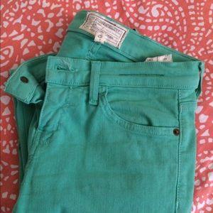  SALE!! Current/Elliott Mint Skinny Jeans