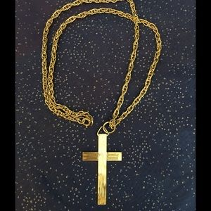 Large Gold Two-sided Cross